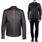 ★ In PELLE 100% o Di Pelle PU ★ Giubbotto Giacca Uomo Men Leather Jacket mdTra1s