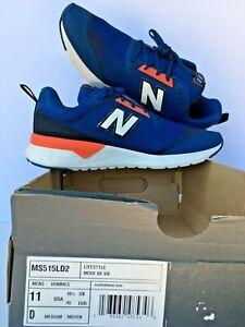 New Balance Men's Fresh Foam Light Weight Shoes Blu/Orange/White 11 M