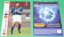 LUIS FIGO INTER FOOTBALL TRADING CARDS PANINI CHAMPIONS LEAGUE 2007-2008