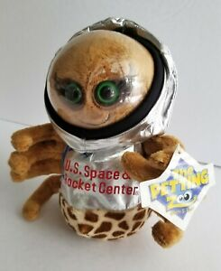The Petting Zoo US Space Rocket Center Plush Arabella Space Spider Weird Odd