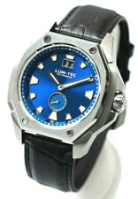 Lum-Tec Watch V8 Mens Blue Dial Big Date Limited Edition of 50 AUTHORIZED DEALER