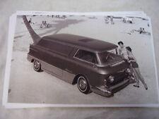1955 GMC  VAN CONCEPT SHOW TRUCK   11 X 17  PHOTO  PICTURE