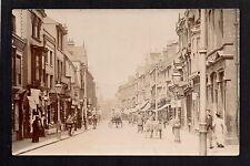 Stourbridge - HighStreet  -  real photographic postcard