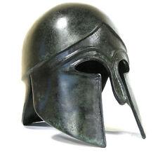 Peloponnesian Corinthian Greek 100% Bronze helmet Museum Replica Reproduction