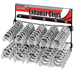 100 Premium Exhaust Clamp Exhaust Clip Stand Wall Mountable Stand Best on eBay!
