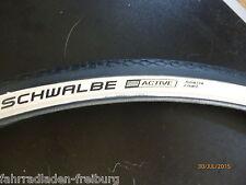 2 neue schwalbe neumático con raya blanca 27x 1 1/4 o 32-630 hs 159