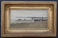 Fischer am Strand,Italien,Ludwig Willroider 1845
