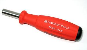 PB SWISS TOOLS 8451.10-30M SwissGrip Griff magnetisch Bithalter für ¼ Zoll Bits