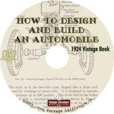 How To Design and Build an Automobile {1924 Construction and Operation} on DVD