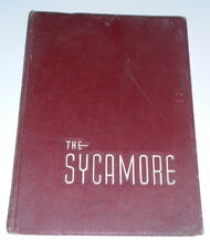 1955 Indiana State Teachers College Sycamore Yearbook Terre Haute Indiana