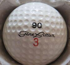 (1) GENE LITTLER SIGNATURE LOGO GOLF BALL (90 Ram Made in USA CIR 1964 -1966) #3