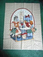 Daisy Kingdom Toy Chest Nursery Quilt fabric panel