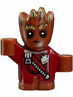 LEGO Super Heroes BABY GROOT Minifigure (Zipper Version) from 76080