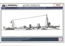 L'Arsenal Models 1/700 AUDACE TORPEDO BOAT Resin & Photo Etch Model