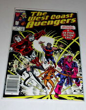 WEST COAST AVENGERS #1  BRONZE AGE MARVEL 1985