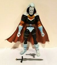 TOY BIZ MARVEL LEGENDS LEGENDARY RIDERS SERIES TASKMASTER W/WEAPONS LOOSE