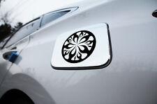 Chrome Fuel Gas Tank Door Cap Cover B326 1Pcs for Hyundai Azera HG 2012 ~ 2017