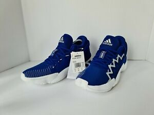 Adidas D.O.N. Issue 2 Collegiate Royal/Cloud White UK 9.5 BNWT