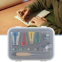 60pcs Fusible Fabric Bias Binding Tape Maker Kit Binder Foot For Sewing Quilting