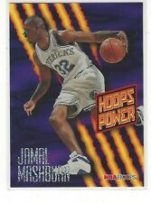 1994-95 HOOPS BASKETBALL POWER RATINGS JAMAL MASHBURN #PR12 - DALLAS MAVERICKS