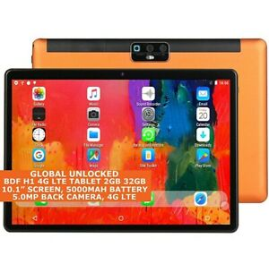 BDF H1 4G LTE Tablet 2gb 32gb Octa Core 10.1 Inch Dual Sim Wi-Fi GPS Android 9.0
