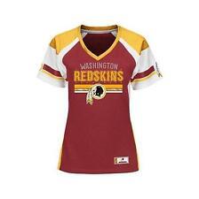 Washington Redskins NFL For Her Draft Me Short Sleeve Fashion Top XL