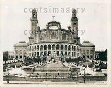 1927 Majestic Trocadero Palace Paris France Press Photo