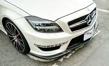 NEW FOR MERCEDES BENZ W218 CLS63 ONLY CARBON FRONT LIP SPOILER GODHAND STYLE