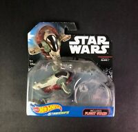 Hot Wheels Starships Star Wars Die-Cast Boba Fett's Slave I New w/ Flight  Stand