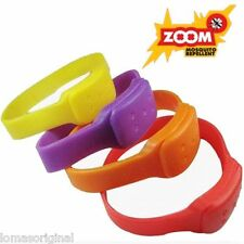 10 X Bracelet Anti - Moucherons - Répulsif Anti Moustique Moustiques