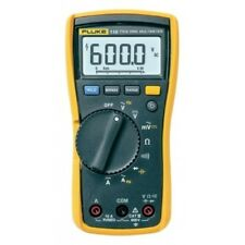Véritable Fluke 115 Digital Handheld HVAC multimètre vrai RMS, CAT III 600 V, UK