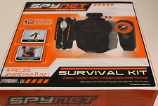 NEW MIB SPYNET Real Tech Survival Kit Contains Canteen, Holster, Compass Whistle
