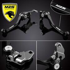 MZS Black Motorcycle Pivot Brake Clutch Levers For Suzuki DRZ 400 S/SM DR250R