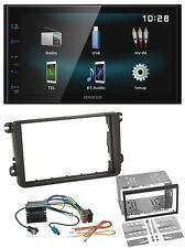 Kenwood AUX Bluetooth USB MP3 2DIN Autoradio für VW Caddy Golf 5 6 Jetta ab 2003