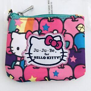 JuJuBe Hello Kitty Lucky Stars Coin Purse Limited Edition Machine Washable NIP
