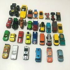 Mixed Lot of 32 Used Toy Cars & Trucks