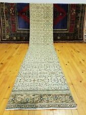 Vintage 1930-1939's Floral Turkish Hereke Runner 2' × 9'7""