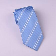 "Men's Striped 4"" Traditional Wide Tie Blue Designer Sexy Stylish Men's Accessory"