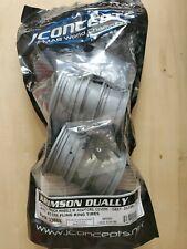 Jconcepts 3388S Krimson Dually 2.6 dual wheels w adaptors 2 -Gray