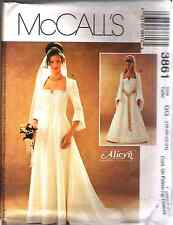 """McCall's 3861 OOP """"Alicyn Exclusives"""" Bridal Gowns Pattern Sizes 18-20-22-24"""