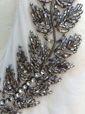 TOPSHOP TOP~SEQUIN DIAMANTE EMBELLISHED ~CUT AWAY BACK~NEW WITH TAGS~RRP£40~10