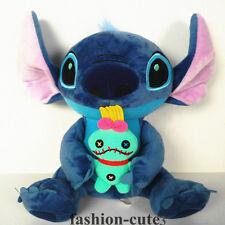 "New Scrump Lilo & Stitch Soft Plush Toy Stuffed Doll Figure Kid's Gift 10""  25cm"
