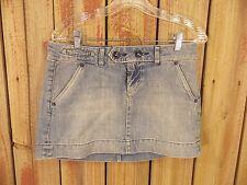 American Eagle Denim Mini Skirt Daisy Duke 100% Cotton Women's Size 4 NWT $39