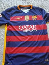 2015 Nike Official Barcelona FC Lionel Messi Futbol Soccer Jersey Size L