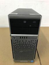 HP Proliant ML310e Gen8 V2 Intel Xeon E3-1240 v3 @3.4Ghz 16GB MEM 8x 600GB B120i