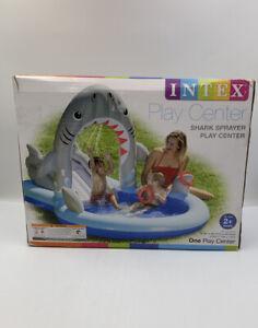 Intex Shark Sprayer Play Center New