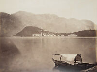 Umkreis Antonio NESSI (1834), Tremezzo am Comer See, 19. Jhd., Fotografie