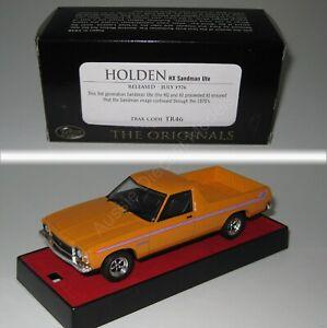 Holden HX Sandman Utility Ute Papaya TRAX TR46 1:43 Scale Diecast Model