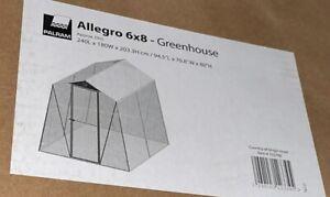 Allegro Greenhouse - 6 X 8ft.-Palram