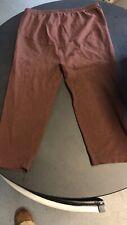 Maternity Over Dark Brown 3/4 Length Leggings Size 14